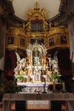 Altare för strömförsörjning för Dubrovnik St Blaise Royaltyfria Bilder