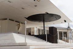 Altare a Fatima, Portogallo - fuori Immagine Stock Libera da Diritti