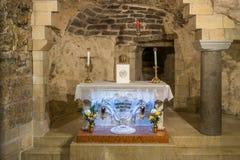Altare i huset av Mary Royaltyfri Foto