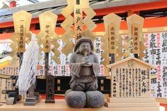 Altare i Kiyomizu-dera relikskrin - Kyoto Arkivbilder