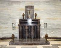 Altare, il monumento di guerra, Montello Fotografia Stock