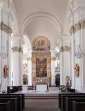 Altare illuminato Immagine Stock Libera da Diritti