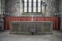 Altare Iona Abbey Immagine Stock Libera da Diritti