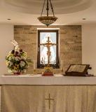 altare kyrkliga ljubljana tagna slovenia Royaltyfri Foto
