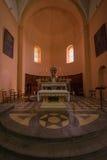 altare kyrkliga ljubljana tagna slovenia Arkivfoto