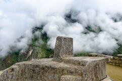 Altare in Machu Picchu Immagine Stock