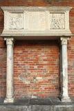 Altare medievale Fotografia Stock Libera da Diritti