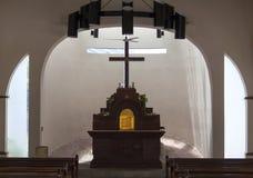 Altare messicano della chiesa Immagini Stock