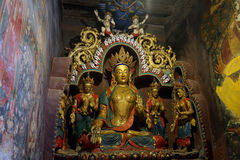Altare in monastero Fotografia Stock