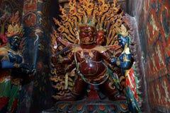 Altare in monastero Immagini Stock Libere da Diritti