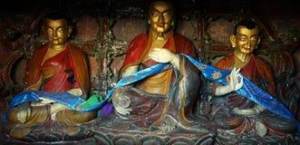 Altare in monastero Fotografia Stock Libera da Diritti