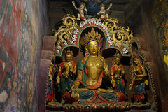 Altare in monastero Fotografie Stock Libere da Diritti