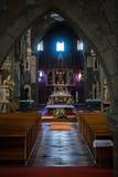 Altare nel interiour della st Procopius Fotografie Stock Libere da Diritti