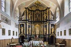 Altare nel monastero di Stoczek Klasztorny Immagini Stock