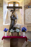 Altare nel monastero di Stoczek Klasztorny Fotografia Stock Libera da Diritti