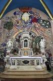 Altare nel san Eustache della chiesa in Dobrota, Montenegro Fotografie Stock Libere da Diritti