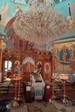 Altare nel tempio Immagini Stock