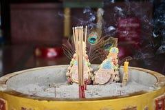 Altare nel tempio cinese Immagini Stock Libere da Diritti