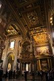 Altare nella basilica della st John Lateran a Roma Italia Immagine Stock Libera da Diritti