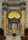 Altare nella basilica di St Peter Immagine Stock Libera da Diritti