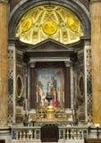 Altare nella basilica di St Peter Fotografia Stock Libera da Diritti