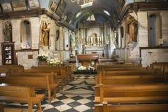 Altare nella cappella di Notre-Dame-de-tolleranza Immagine Stock Libera da Diritti