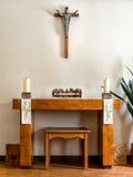 Altare nella casa di cura Fotografie Stock