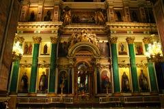 Altare nella cattedrale Fotografie Stock Libere da Diritti