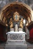Altare nella cattedrale della st Domnius nella spaccatura Immagini Stock Libere da Diritti