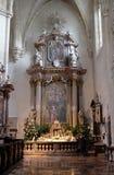 Altare nella cattedrale di Graz Fotografia Stock