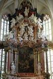 Altare nella cattedrale di Graz Fotografie Stock Libere da Diritti