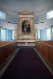 Altare nella cattedrale di Helsinki Immagini Stock