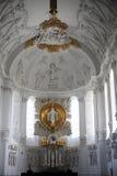 Altare nella cattedrale di Wurzburg Fotografie Stock Libere da Diritti