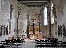 Altare nella chiesa Fotografia Stock Libera da Diritti