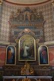 Altare nella chiesa della st Aloysius in Travnik, Bosnia-Erzegovina Fotografia Stock Libera da Diritti