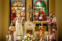 Altare nella chiesa di Cristo Fotografia Stock