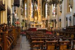 Altare nella città olandese della cattedrale di Den Bosch Immagine Stock