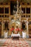 Altare ortodosso Immagini Stock