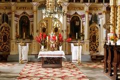 Altare ortodosso Fotografie Stock