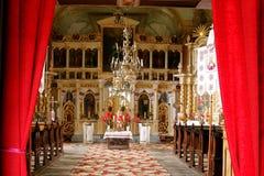 Altare ortodosso Fotografia Stock Libera da Diritti