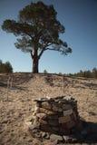 Altare pagano dello sciamano Fotografie Stock