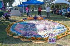 Altare per ricordare i morti durante il giorno dei morti Immagini Stock Libere da Diritti