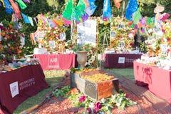 Altare per ricordare i morti durante il giorno dei morti Fotografia Stock