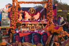 Altare per ricordare i morti durante il giorno dei morti Immagine Stock Libera da Diritti