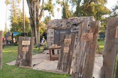 Altare per ricordare i morti durante il giorno dei morti Fotografie Stock Libere da Diritti