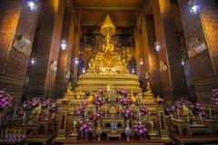 Altare in pho del wat, Bangkok, Tailandia Immagini Stock Libere da Diritti