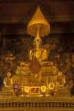 Altare in pho del wat, Bangkok, Tailandia Immagini Stock