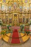 Altare pienamente decorato Fotografia Stock