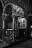 Altare principale, Al Monte di San Miniato Immagine Stock