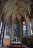 Altare principale del Pfarrkirche in Schwaz Immagine Stock Libera da Diritti